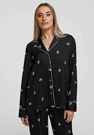 ALL-OVER IKONIK - Haut de pyjama - black
