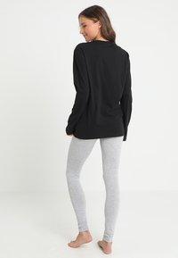 Calvin Klein Underwear - CREW NECK - Maglia del pigiama - black - 2
