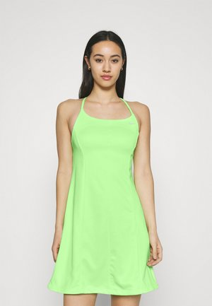 Robe en jersey - lime glow/barely green