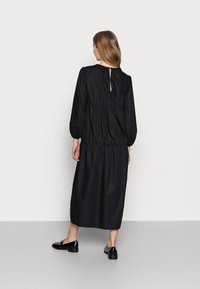Topshop Maternity - SMOCK TIERED DRESS - Day dress - black - 2