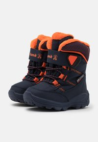 Kamik - STANCE UNISEX - Winter boots - navy/flame - 1