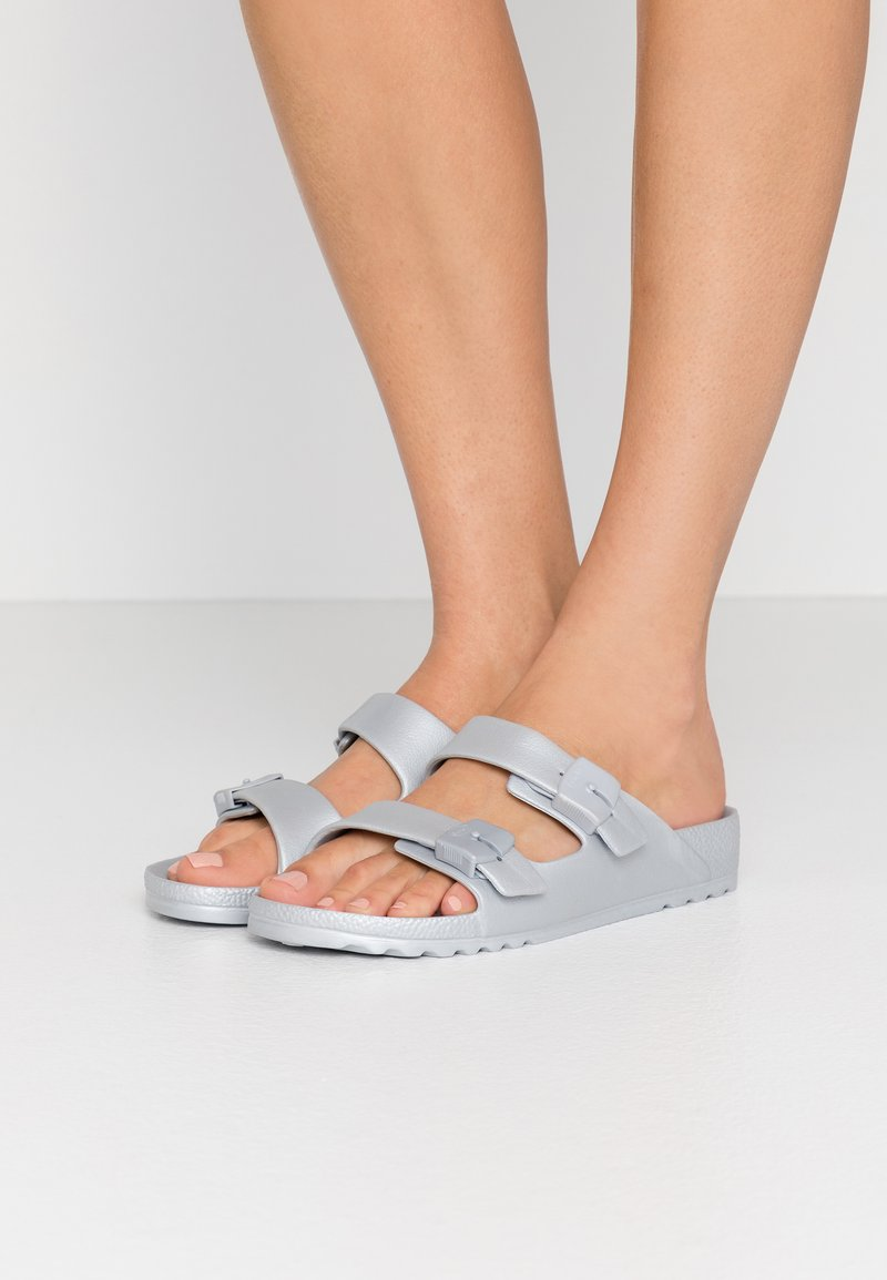 Scholl - BAHIA - Pantofle - argent