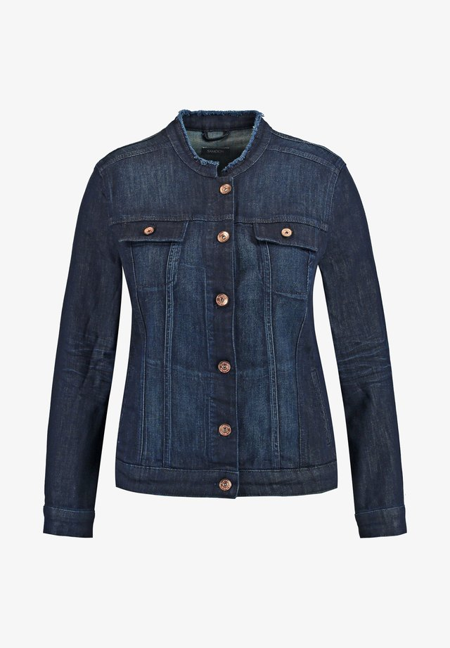 Spijkerjas - dark blue denim