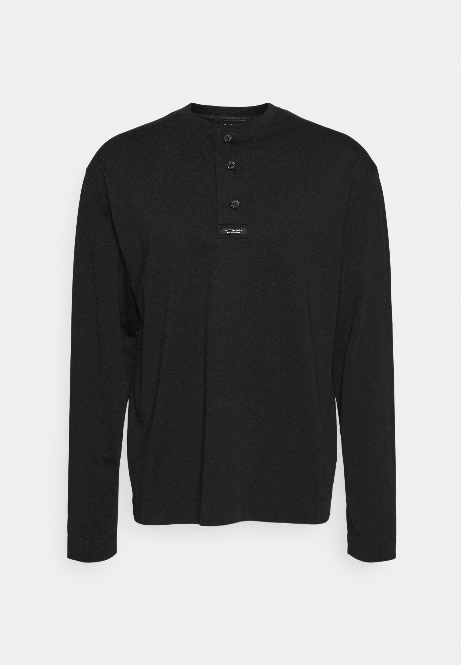 Men GRANDAD LONG SLEEVE - Long sleeved top