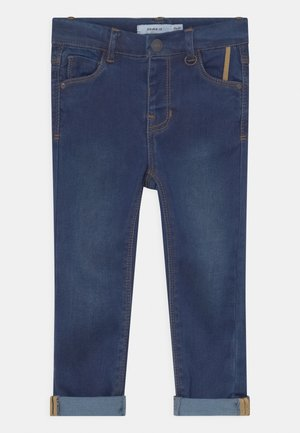 NMFPOLLY DNMTORAS - Slim fit jeans - dark blue denim