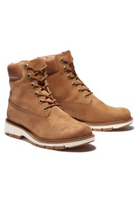 Timberland - LUCIA WAY 6IN WP BOOT - Schnürstiefelette - rust nubuck - 1