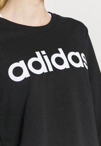 adidas Performance - Sweatshirts - black/white - 5