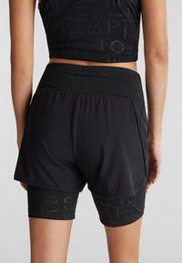 Esprit Sports - MIT E-DRY - Sports shorts - black - 5