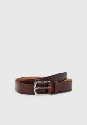 BERGSTROM - Belt - dark brown