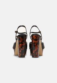 MICHAEL Michael Kors - JOSIE PLATFORM - Sandals - black - 3