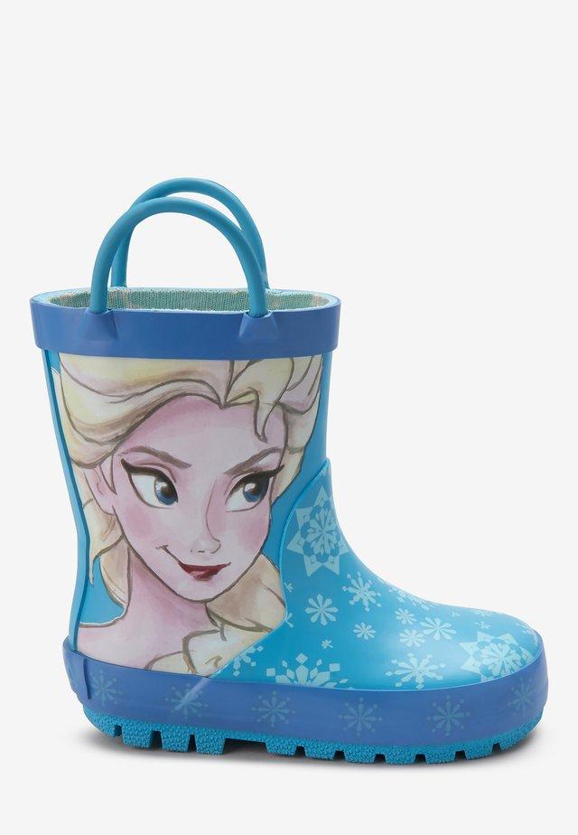 ELSA DISNEY FROZEN - Stivali di gomma - blue