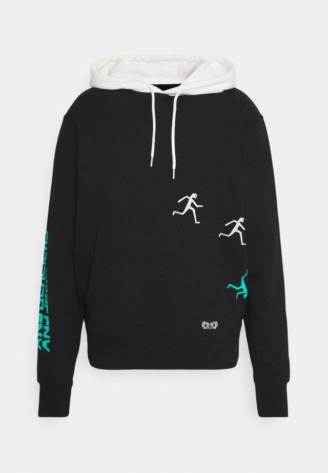SUMMIT PUSH - Sweatshirt - flint black