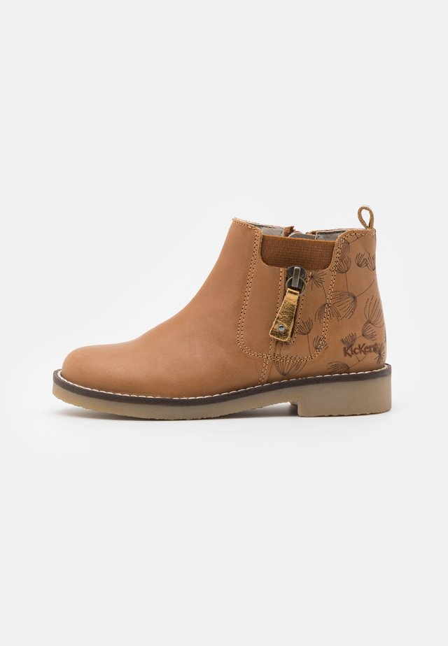 NYKKI - Classic ankle boots - camel