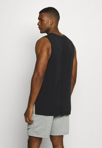 Nike Performance - DRY TANK YOGA - Camiseta de deporte - black/iron grey - 2