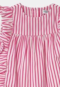Polo Ralph Lauren - STRIPE SET - Shirt dress - pink/white - 3