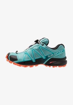 SPEEDCROSS 4 - Trail running shoes - meadowbrook/black/exotic orange