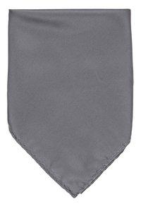 Selected Homme - Pocket square - mid grey melange - 2