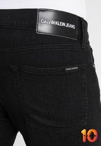 Calvin Klein Jeans - 026 SLIM - Džíny Slim Fit - copenhagen black - 3