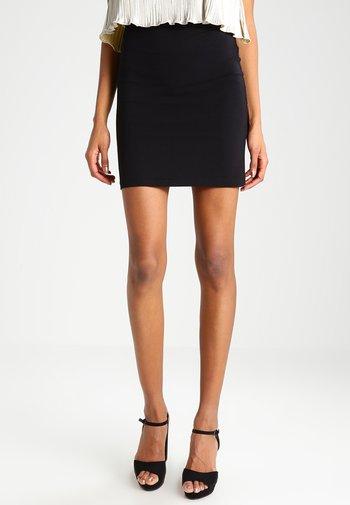 TUTTI - Mini skirt - black