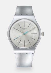 Swatch - METALINE UNISEX - Zegarek - silver-coloured - 0