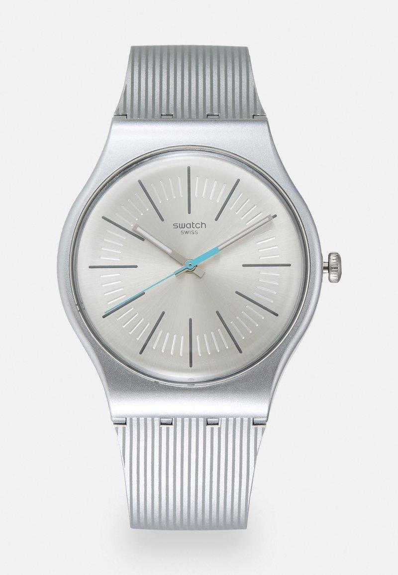 Swatch - METALINE UNISEX - Zegarek - silver-coloured