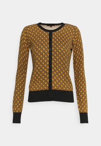 ROUNDNECK - Cardigan - curry yellow