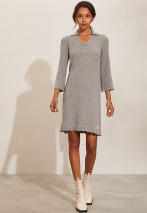 FAITH - Jumper dress - grey melange