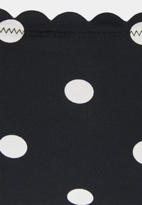 LASCANA - PANTS CHEEKY - Bikini bottoms - black/white - 2