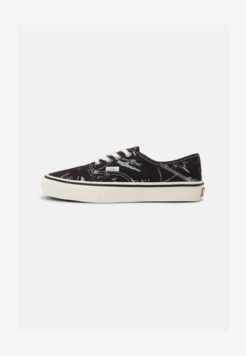 UA AUTHENTIC SF UNISEX - Sneakers basse - black/antique white
