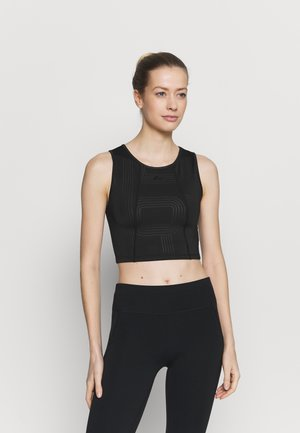 ONPJOYA TRAINING CROP - Sport-bh met light support - black