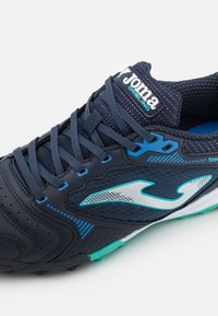 Joma - DRIBLING - Astro turf trainers - dark blue/turquoise - 5