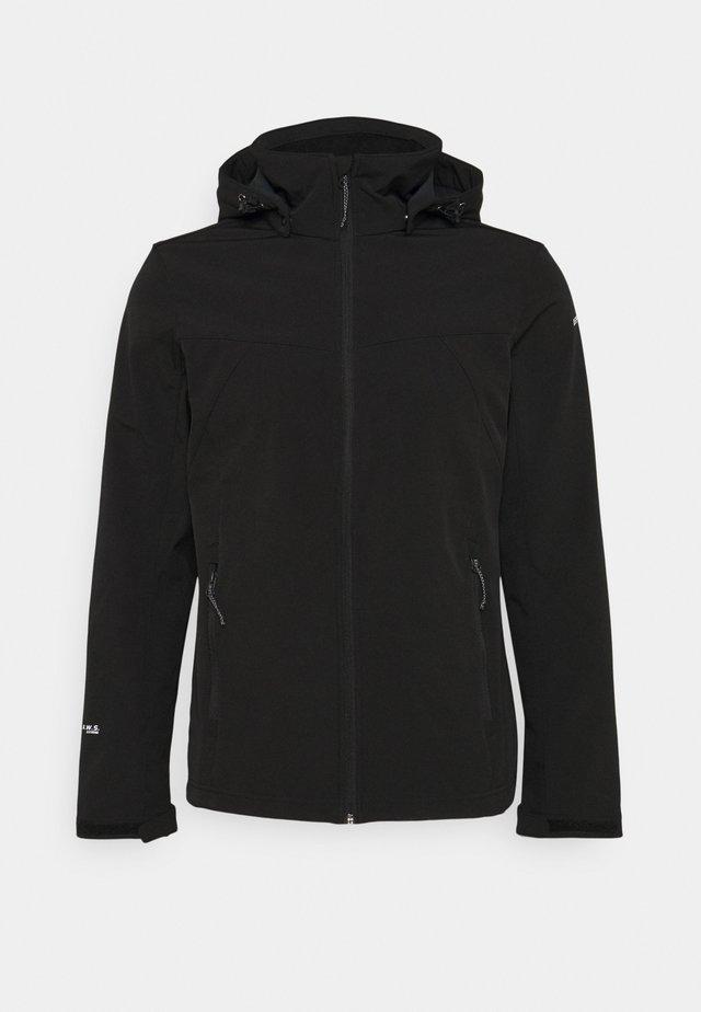 BRIMFIELD - Soft shell jacket - black