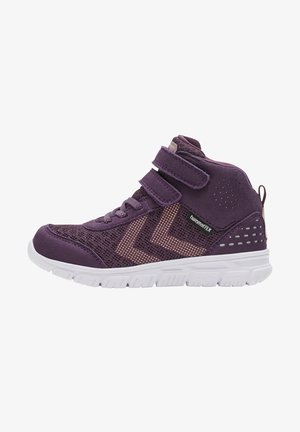 High-top trainers - blackberry wine