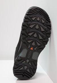 Keen - TARGHEE WP - Hikingskor - black/steel grey - 4