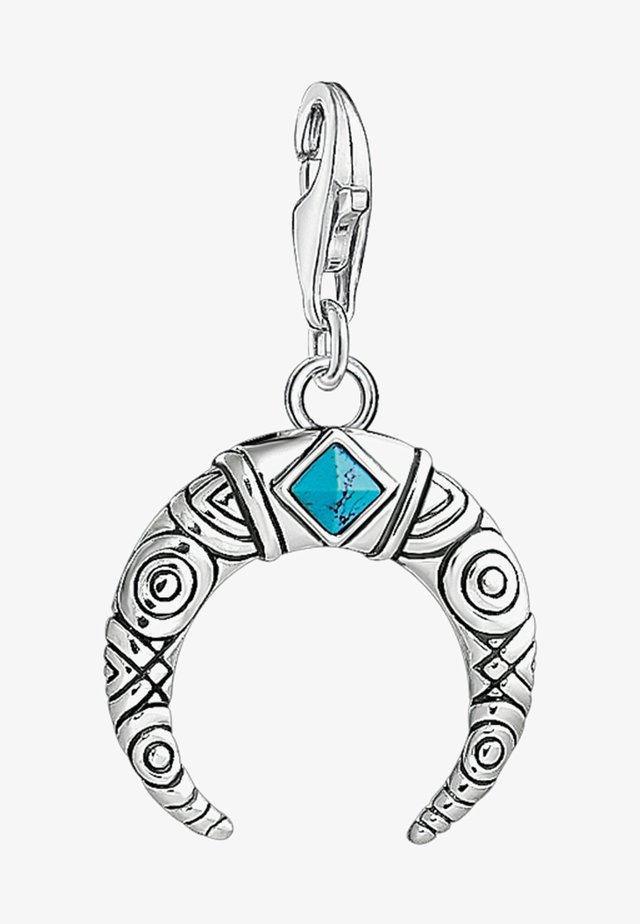 Anhänger - silver-coloured/turquoise