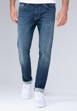 Straight leg jeans - dark blue