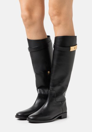 RIDING BOOT - Vysoká obuv - perfect black