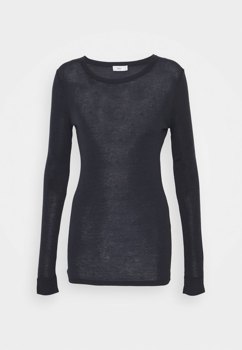 CLOSED - WOMEN´S - Long sleeved top - dark night