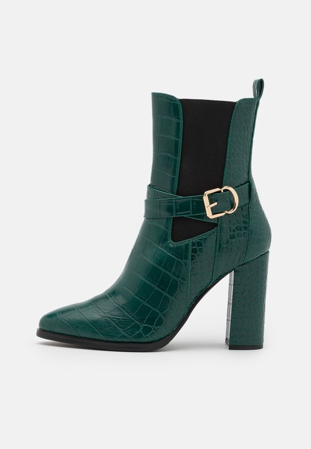 Classic ankle boots - green