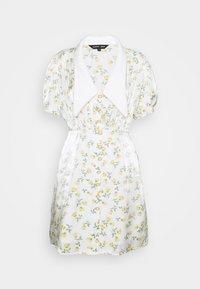 Sister Jane - GAME FLORAL MINI DRESS - Shirt dress - ivory - 4