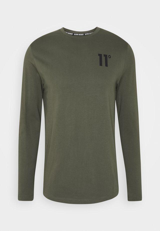 CORE - Long sleeved top - khaki