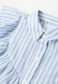 Mango - VOLANT RIGHE - Overhemd - bianco sporco - 1