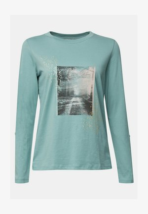 Long sleeved top - dusty green
