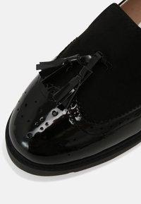 Head over Heels by Dune - GAMBO - Półbuty wsuwane - black - 7