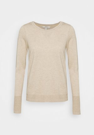 SWEATERS CREW-NECK - Jumper - sand