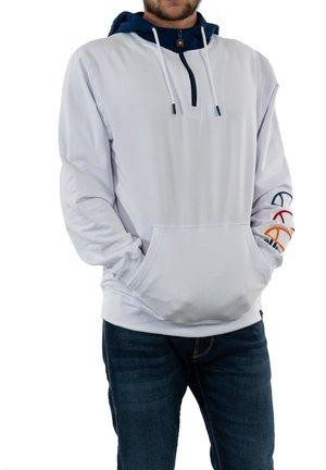 Hoodie - blanc