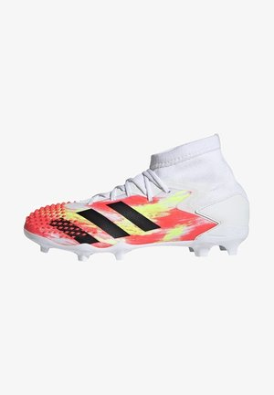 PREDATOR MUTATOR 20.1 FIRM GROUND BOOTS - Moulded stud football boots - white