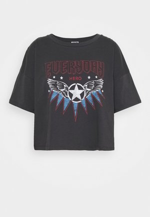NMAMY ROCK - T-shirt print - grey