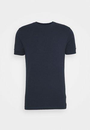 ANTON - Jednoduché triko - dark blue