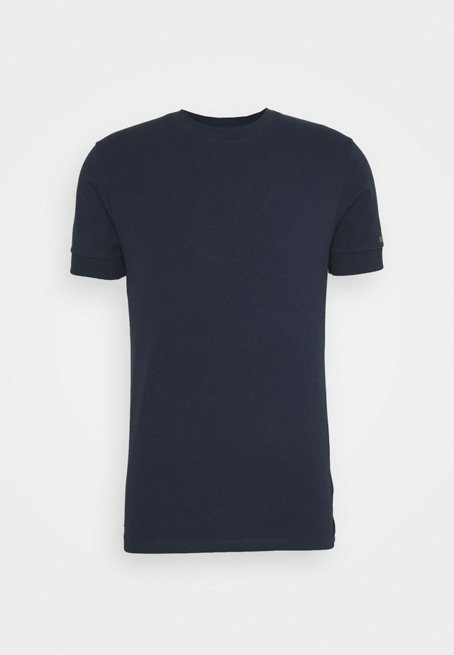 ANTON - T-shirt basique - dark blue